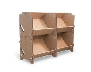 étagère carton