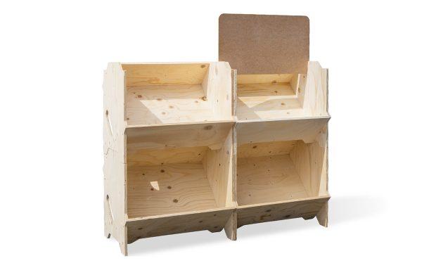 Présentoir bois kit