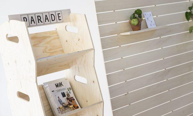 Pour ranger vos livres, choisissez notre étagère bibliothèque en bois