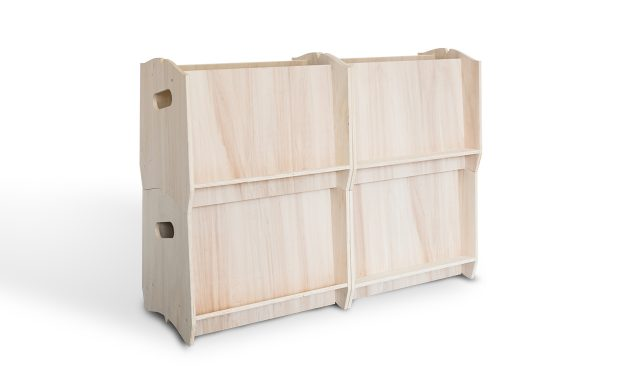 Présentoir porte-documents en bois IZZIDOC