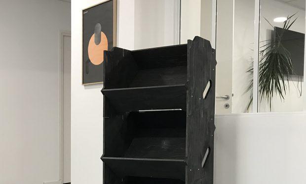 Teinte naturelle pour une izzibox noire haut de gamme